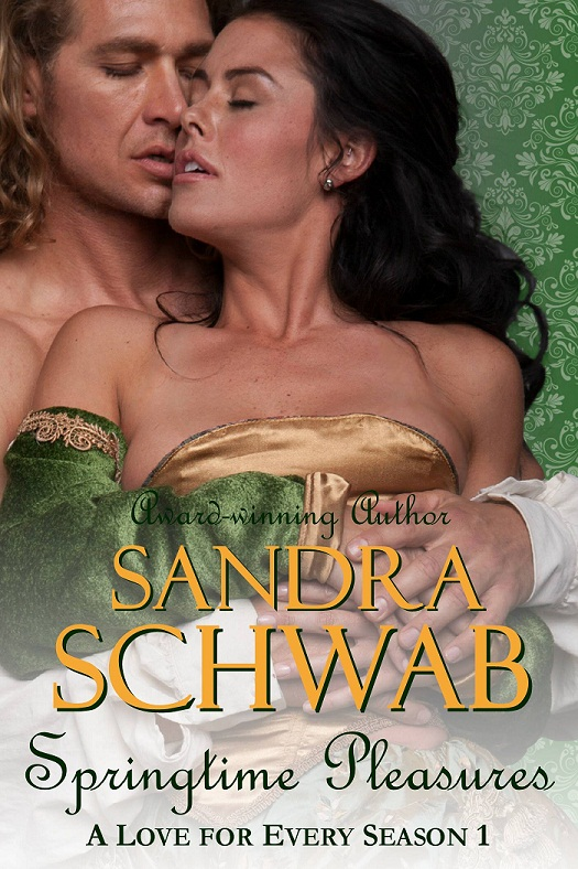 "cover of Sandra Schwab's ""Springtime Pleasures"""