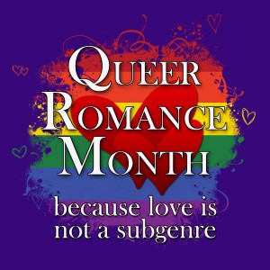 Queer Romance Month Badge