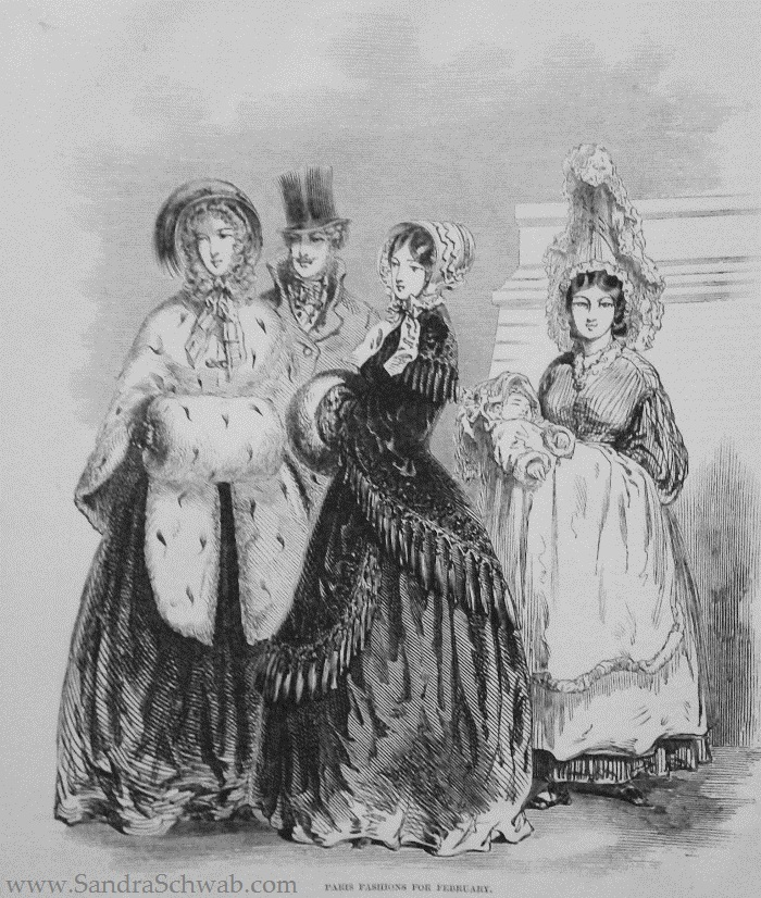 Paris fashion for February 1848